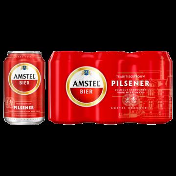 amstel bier blik 6-pack